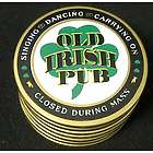 Old Irish Pub Coasters