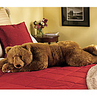 Brown Bear Hug Body Pillow