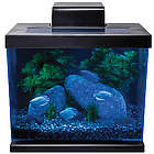 Classic 4 Gallon Hidden LED Desktop Aquarium Kit