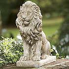 Classic Lion Guardian Statue