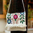 Snow Messenger Wool Flap Shoulder Bag