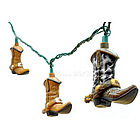 Cowboy Boot Decorative String Lights