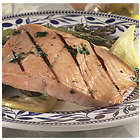 4 6-oz. Salmon Filets Plus Grilling Planks