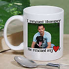 Personalized Rescued Pet Photo Mug