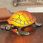 Art Nouveau-Inspired Tortoise Lamp