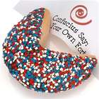 Patriotic Giant Fortune Cookie with Personalized Fortune