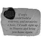 Personalized Marble If Tears...Memorial Stone
