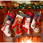 Personalized Needlepoint Stocking