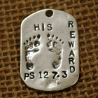 """His Reward"" GodTag Sympathy Pendant"