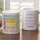 World's Best Mom Personalized Coffee Mug