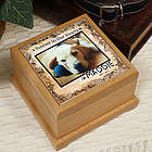Personalized Memorial Wooden Urn