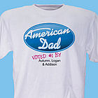 Personalized American Dad T-Shirt