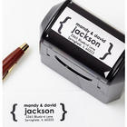 Modern Address Self-Inking Stamper