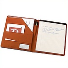 Personalized Business Leather Padfolio