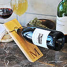 Counter Balance Personalized Wine Bottle Holder