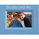 Daddy and Me Hand Painted Picture Frame