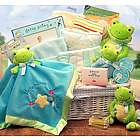 Just Hoppin' Around Baby Gift Basket