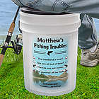 Fishing Troubles Personalized Bucket Cooler