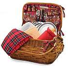 New Orleans Saints Highlander Rattan Picnic Basket