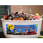 Personalized Disney Halloween Candy Bowl
