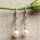 Freshwater Pearl Sterling Earrings