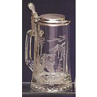 Engravable Bear & Moose Stein