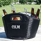 Embroidered Initials Party Drink Cooler Tub