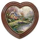 "Thomas Kinkade ""Home Sweet Home"" Heart Framed Print"