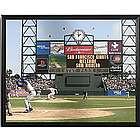 Personalized MLB Scoreboard San Francisco Giants Canvas
