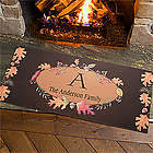 Autumn Hues Personalized Oversized Doormat