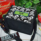 Personalized Skull and Crossbones Lunch Cooler