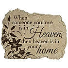 Heaven in Your Home Memorial Stone