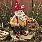 Gnome on the Range Garden Statue