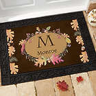 Autumn Hues Personalized Standard Doormat