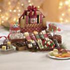 Christmas Cheese and Snacks Gift Tower