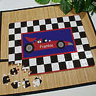 Personalized Racecar Jigsaw Puzzle