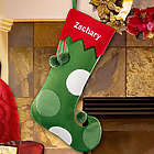 Personalized Wool Jester Christmas Stocking