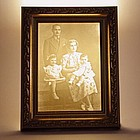Personalized Family Photo Illuminated Lithophane