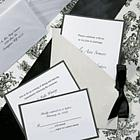 Silver Jacket Wedding Invitations Kit