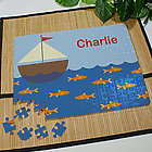 Personalized Sail Away Jigsaw Puzzle
