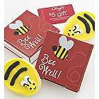 Bee Well Cookie Card