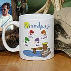 Fishing Buddies Personalized Coffee Mug