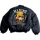 Marine Bulldogs MA-1 Flight Jacket