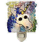 Recycled Glass Unicorn Nightlight