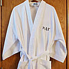 Monogrammed Terry Cloth Cotton Robe
