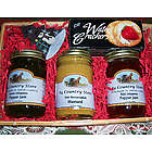 Hot! Hot! Hot! Spicy Jams & Mustard Gift Basket