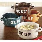 Stoneware Soup Bowl Set