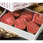 Four 6-ounce Filet Mignons with Gourmet Seasoning