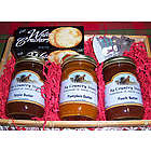 Apple, Peach & Pumpkin Butter Gift Basket