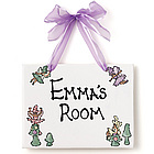 Personalized Name Plaque for Girls